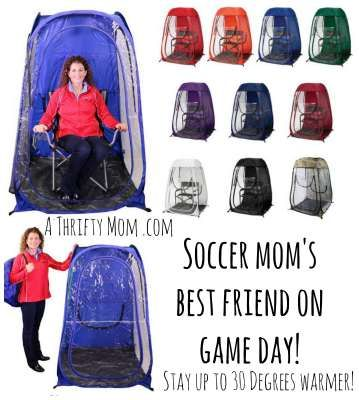239a423b677 Soccer Mom s best friend on game day Clear wall shelter to keep warm inside  ~ Finally back in stock