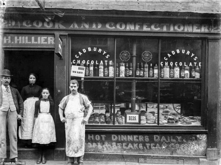 Victorian Shop Fronts Grocer 1888 By Joseph Lewis Della