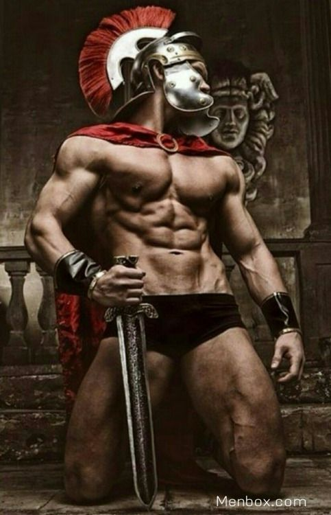 from Marvin roman gladiator athletes gay pics