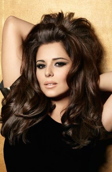 Cheryl Cole Voluminous Hairstyle | Advertising campaign for Elnett