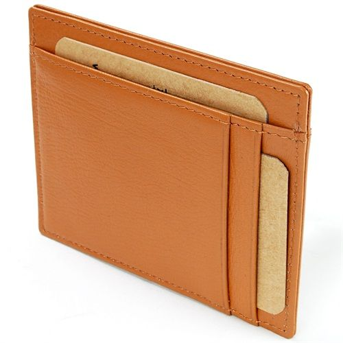 The Hammer Anvil Minimalist Slim Card Case Wallet is a simple wallet for everything you need without the back pain of carrying a fat wallet.