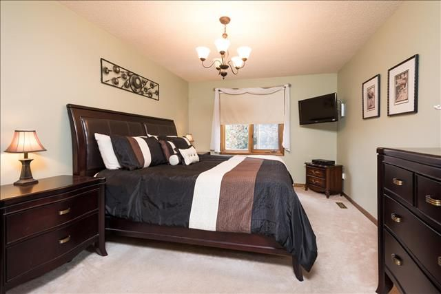 Master Bedroom with Walk-in Closet and Ensuite!