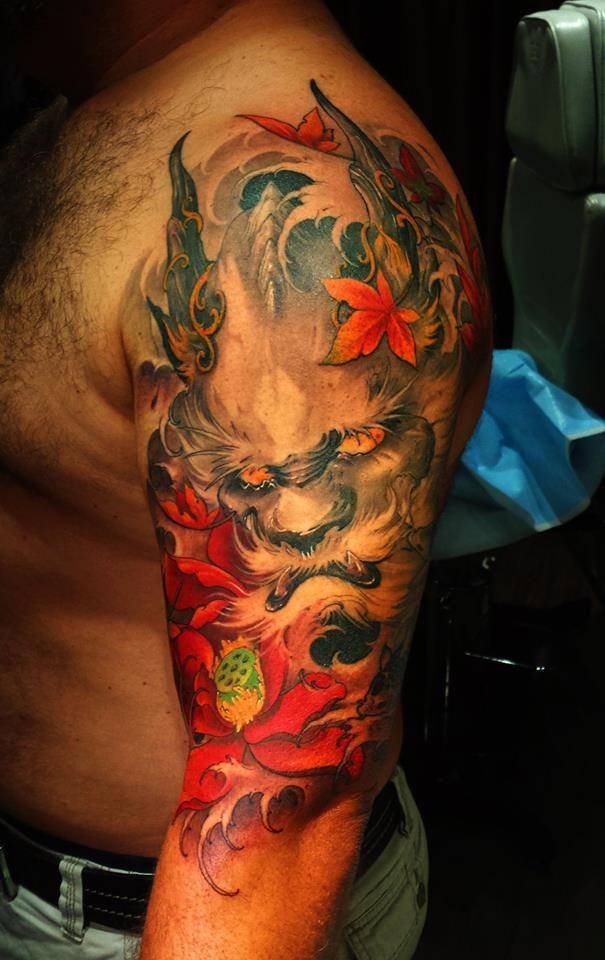 Chronic Ink Tattoos Toronto Tattoo Shop: Toronto Tattoo Dragon Head Tattoo By