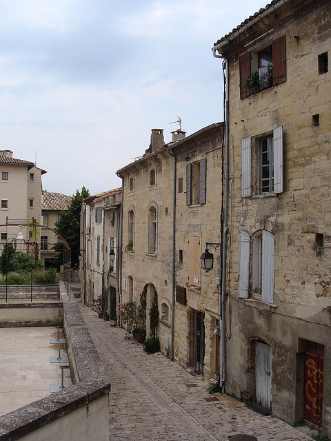 Uzes town 2 by Maxi-cat, via Flickr