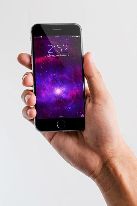 Iphone 6 Spacegray PSD Mockup 05 - Original Mockups