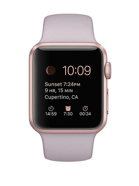 Apple Watch Sport review - rose gold