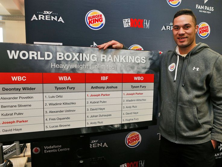 Boxing Joseph Parker targeting WBO title fight against Andy Ruiz Junior in Auckland - New Zealand Herald
