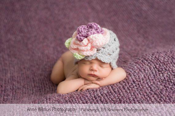 Baby Girl Hat Newborn Girl Cute  Baby Clothes by Sebastianseven