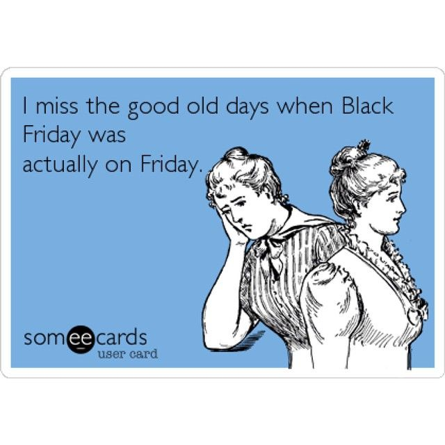 What day did you decide to do your Black Friday shopping on?
