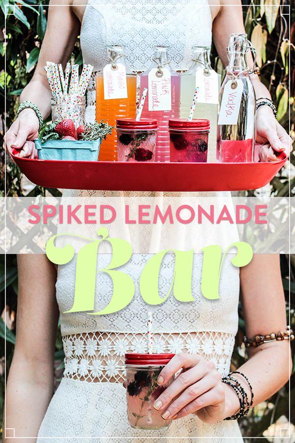 DIY Cocktail: Spiked Lemonade Bar [Recipe]