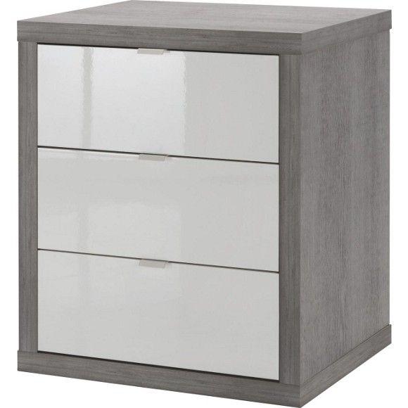 Mit diesem <b>Rollcontainer</b> von CARRYHOME vereinfachen Sie sich den Büroalltag! Absolut flexibel: Die 4 raffiniert versteckten <b>Universalrollen </b>erlauben Ihnen freie Wahl bei der Platzierung Ihres Schranks - ob neben, vor oder hinter Ihrem Schreibtisch. Optisch überzeugt das Möbel mit seiner modernen Farbgebung in zeitlosem <b>Weiß</b> und dezentem <b>Grau</b>. Die Betonoptik verleiht dem aparten Design den letzten Schliff und macht den Schrank zu einer stilvollen Bereicherung für…