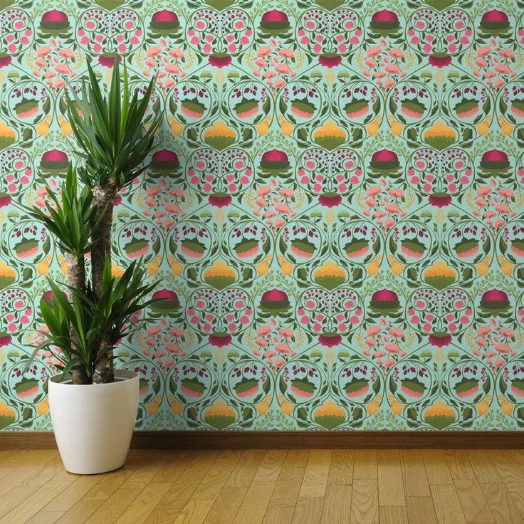 Bungalow Rose Ferri Removable Wallpaper Wayfair