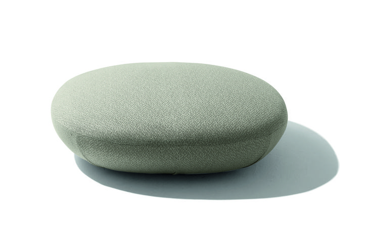 Galet pouffe Design for Giorgetti by Ludovica + Roberto Palomba