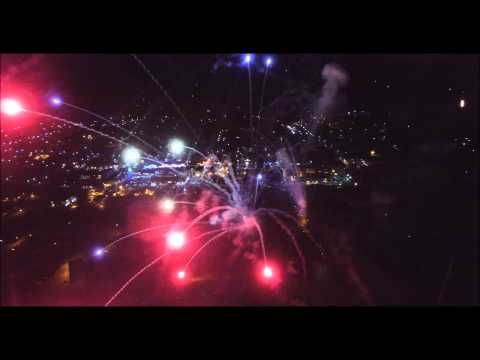 Aerial Drone Video Of Fireworks Over Cripple Creek, Colorado | ColoradoHiking.org
