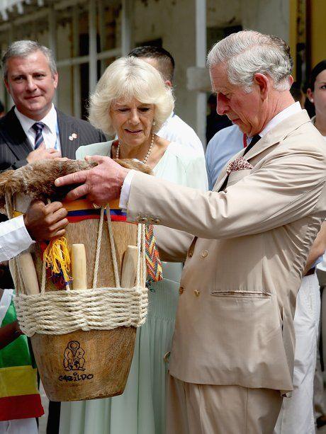 Für Prinz Charles und Herzogin Camilla behielten F...