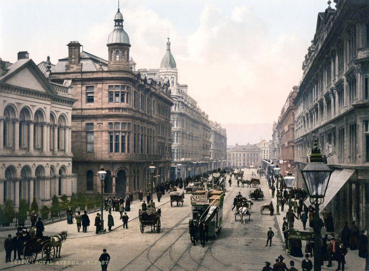 Belfast. Co. Antrim, Northern Ireland circa 1890-1900