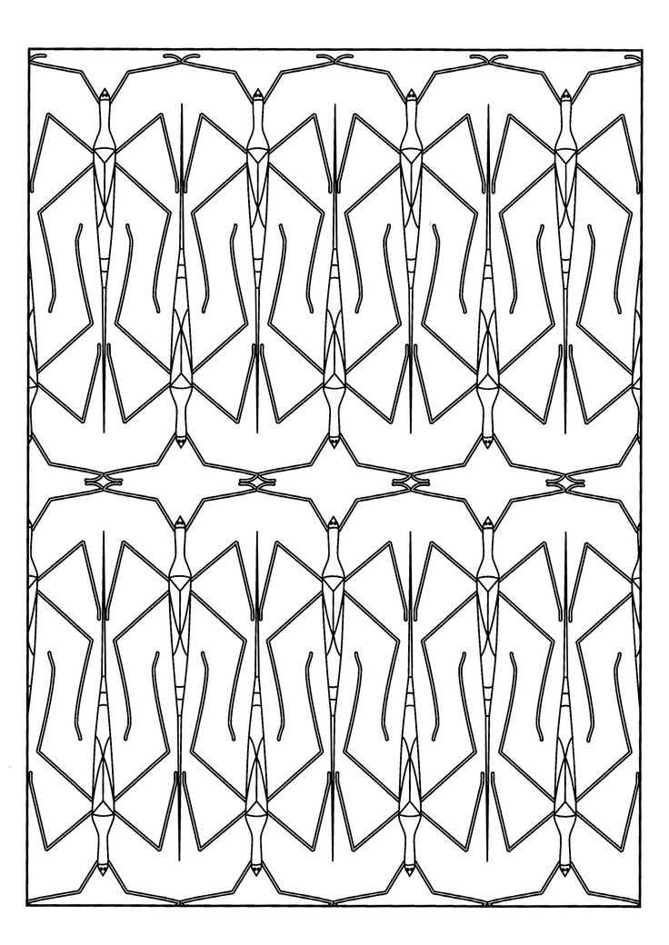 24 best Insects coloring pages images on Pinterest Adult