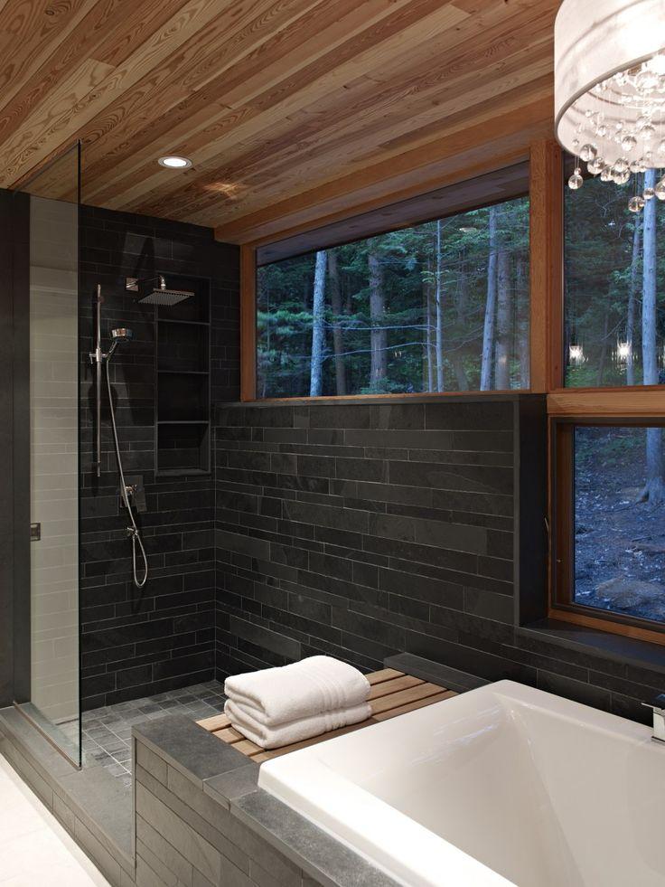 Altius Architecture Inc : Lake Joseph Cottage - bathroom. www.altius.net