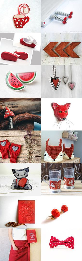 Red T  by Lena Sinelnik on Etsy--Pinned with TreasuryPin.com