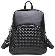 coolcy новый модный повседневный женщин подлинное кожаный рюкзак рюкзак через плечо ба...