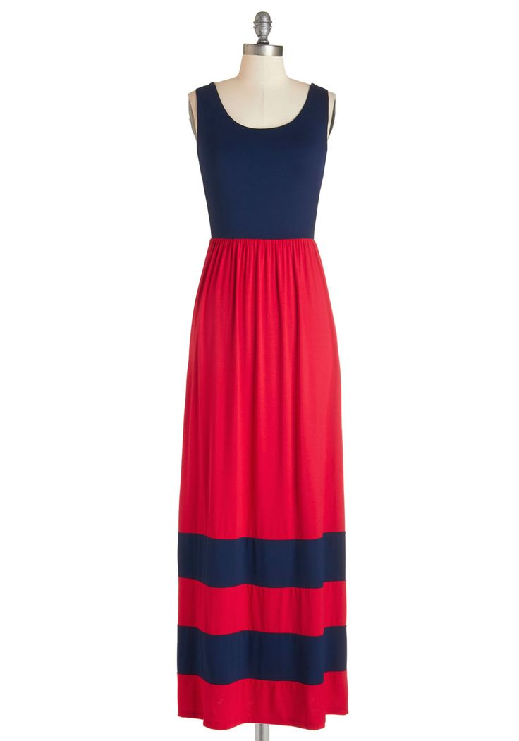 This nautical maxi is perfect for work or weekend!