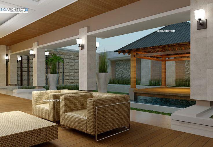 desain villa bali 1 lantai_teras belakang