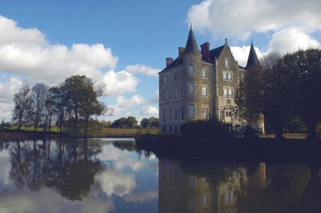 The Château de la Motte Husson in the Loire Valley