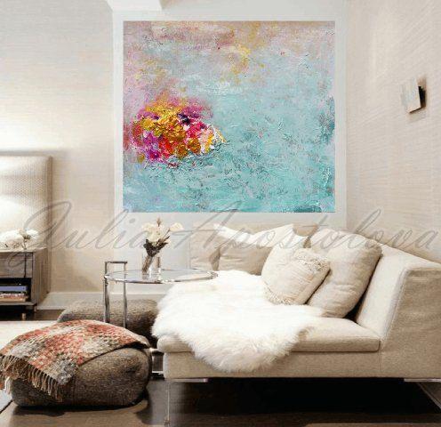 #Minimalist #Painting, #Minimalistabstract #Turquoise and #Pink, #Gold #Abstract, #Print, #TurquoisePainting #Art, #landscapepainting, #SeaAbstract, #BeachDecor #winterpainting #winterabstract #zen #zenartprints #nauticaldecor by #JuliaApostolova