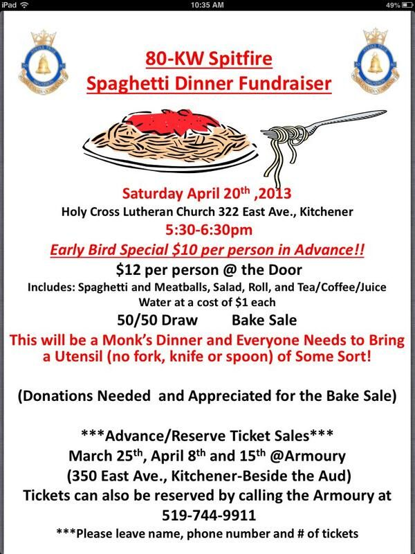 24 best images about spaghetti dinner fundraiser on for Fundraiser dinner tickets template