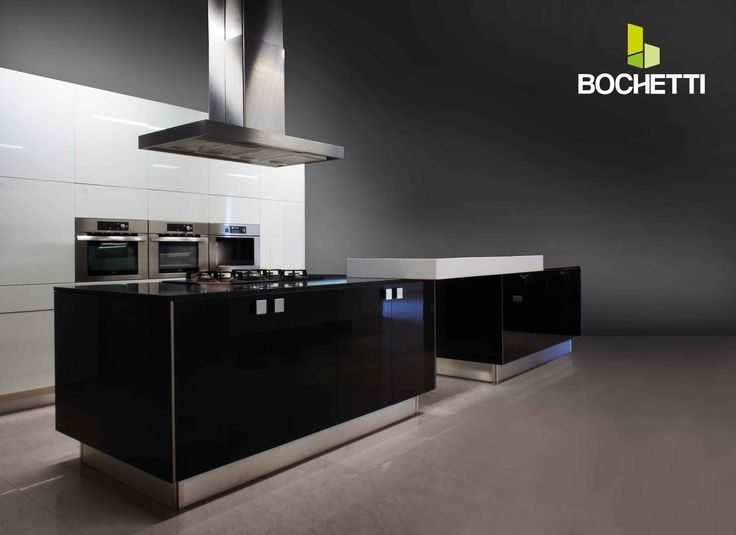 Cocinas Bochetti de linea Vangard. Diseno contemporaneo que da mucha personalidad a tu casa