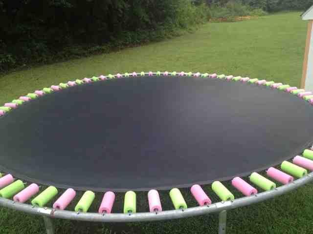 madilyn designs trampoline pool noodle spring covers - Trampoline Springs