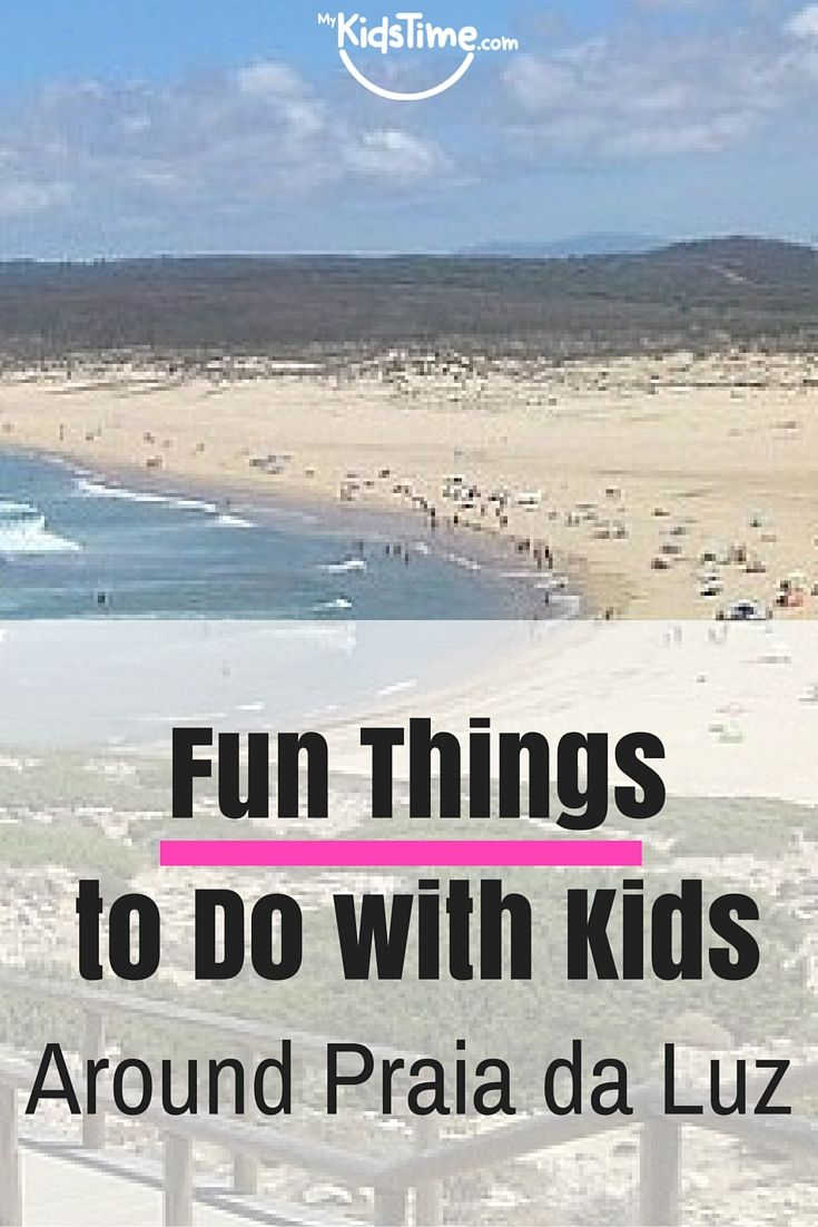 We have spent two family holidays in the Western Algarve, one where we stayed near Praia da Luz, the other near Sagres. Here's my pick of fun things to do with kids around Praia da Luz and the Western Algarve: