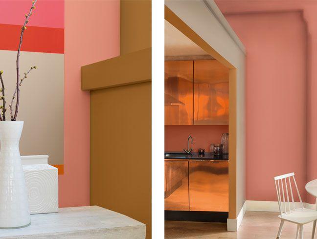 Kleur van het jaar 2015 - Copper Orange voor meer inspiratie, interieurstyling, verkoopstyling en woningfotografie www.stylingentrends.nl of www.facebook.com/stylingentrends