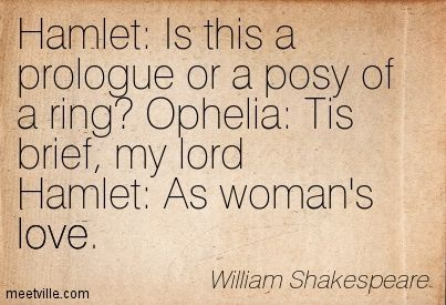 hamlet and ophelias love relationship