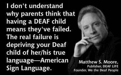 Deaf quote