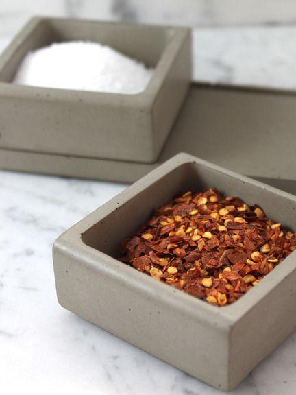 Culinarium - Concrete Spice Caddy