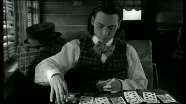 """Johnny Depp , """" Dead man """"."""