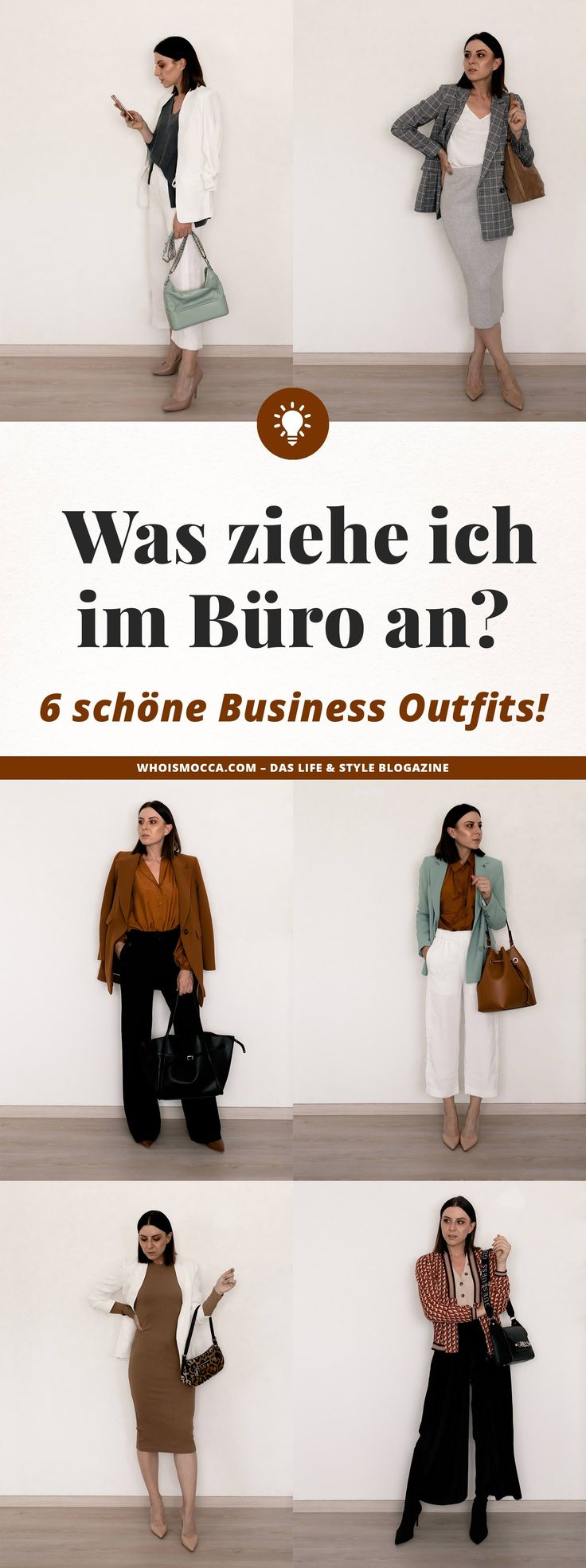 What do I wear in the office? 6 business outfits for every day!