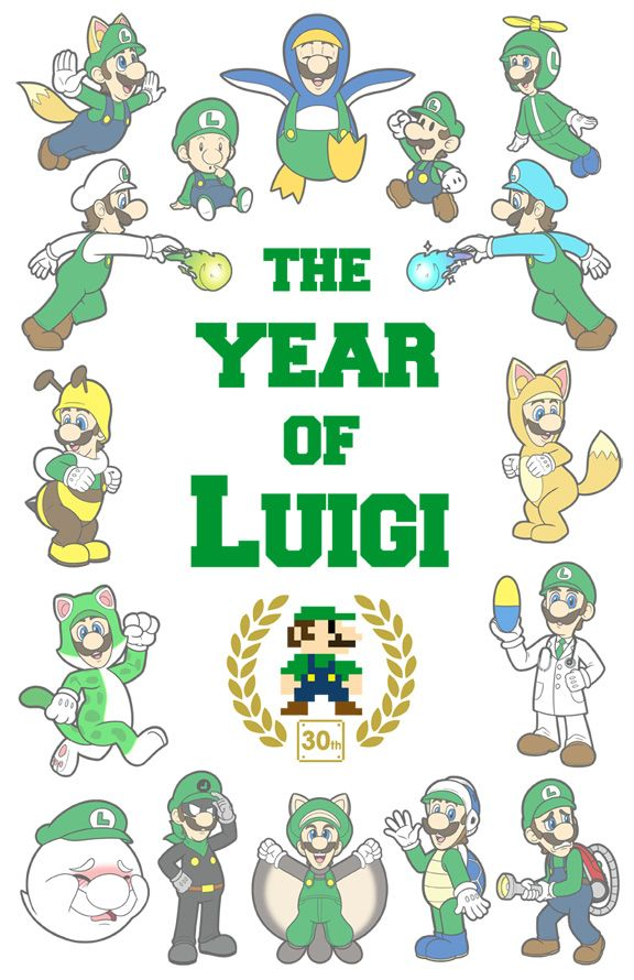The Year Of Luigi by Red-Flare.deviantart.com on @deviantART