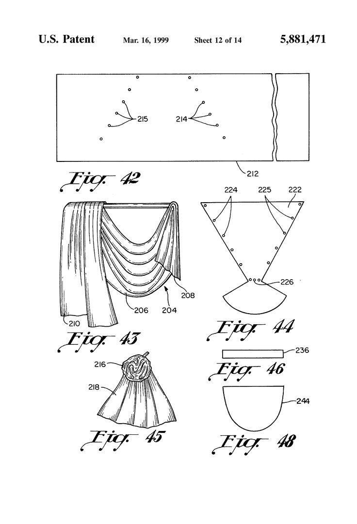 Swag Curtains Pattern - Arrangement jabot curtains for bay windows and jabot curtain swags