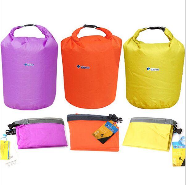 새로운 휴대용 20리터 40L 70L 방수 스토리지 드라이 가방 카누 카약 래프팅 스포츠 야외 도구 캠핑 여행 장비