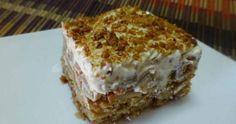Συνταγή: Μηλόπιτα ψυγείου με κρέμα και μπισκότα – Απλά τέλεια