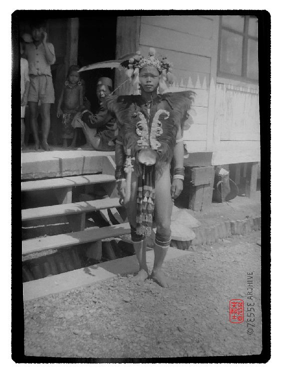 Dayak, Indonesia around 1920's   #tribal #indonesia