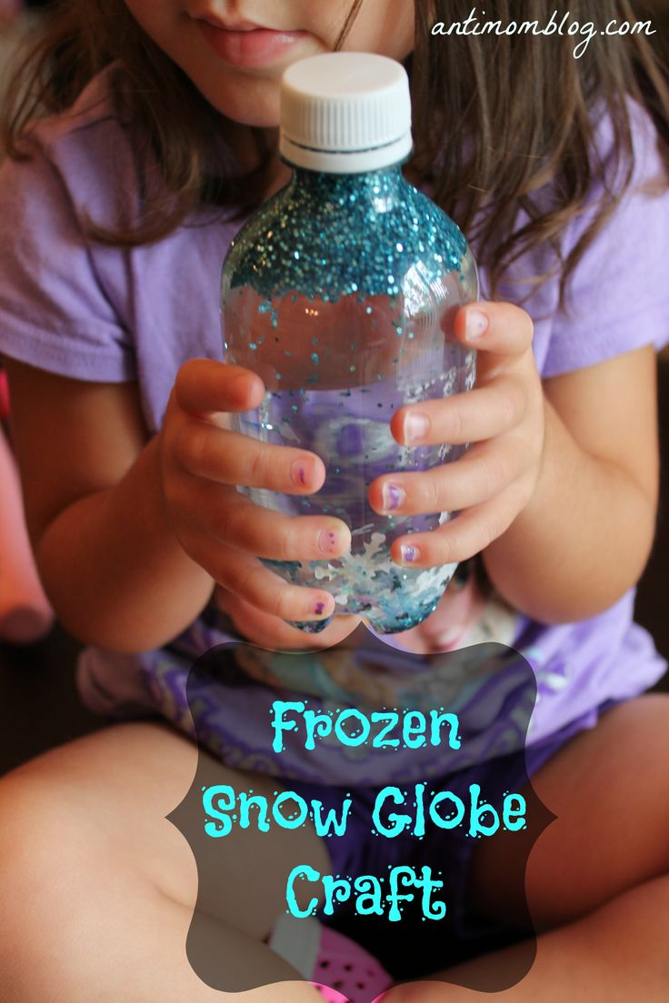 Frozen snow globe!!                                                                                                                                                                                 More