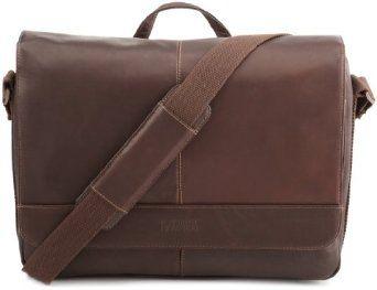 Kenneth Cole Risky Business Messenger Bag, Dark Brown, One Size Kenneth Cole. $91.38