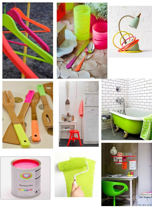 Neon Colors for the home  Sweet and Sour Kids Blog