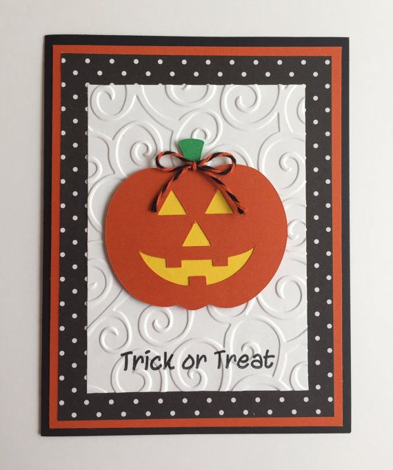 Attractive Halloween Card Making Ideas Part - 12: 40 Handmade Halloween Cards U0026 Party Invitations