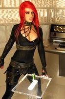 Red Hair Toxic Britney Spears Costume