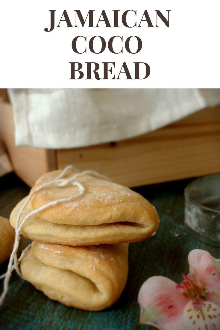 Jamaican coco bread - easy and delicious bread, perfect for filling with Jamaican patties. You'll love it!! Pan de coco jamaicano, tierno y suave, perfecto para rellenar con una empanada jamaicana. Patty's Cake