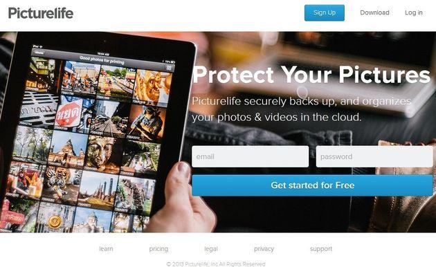 Picturelife, sincroniza y gestiona las fotos que almacenas en la nube